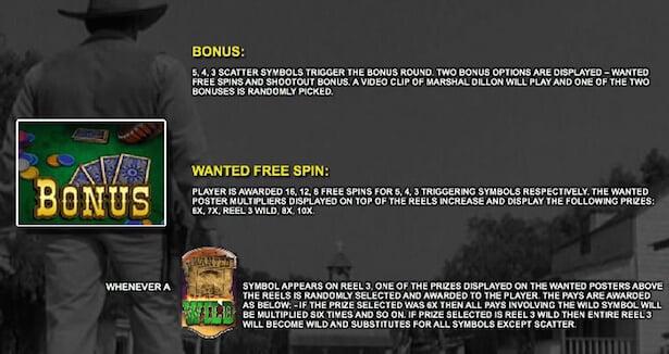 Gunsmoke Slot Free Spins