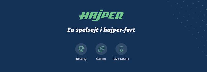 Hajper Casino och betting