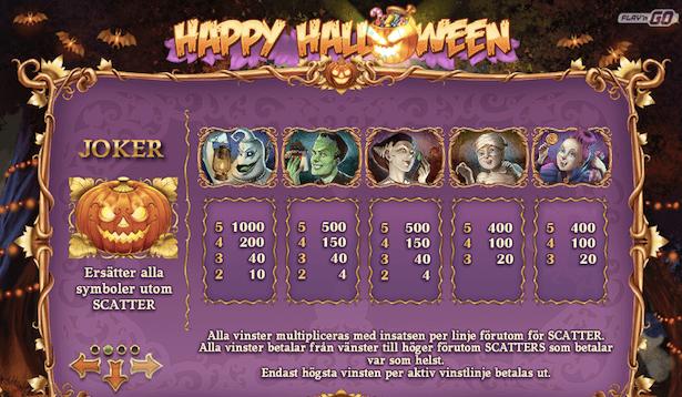 Happy Halloween Bonus