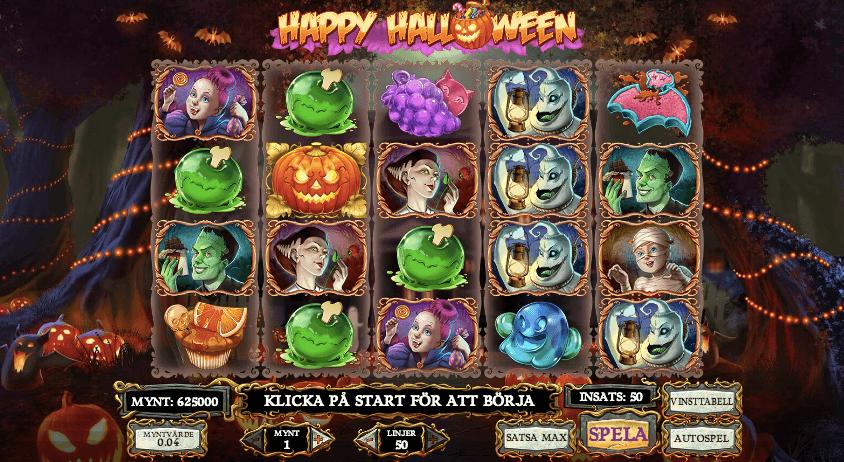 Happy Halloween spelplan.