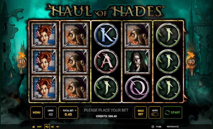 Haul of hades spelbord