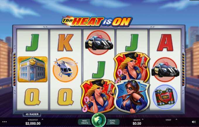 The Heat Is On Slot