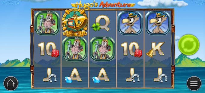 Spelbord Hugo's Adventure