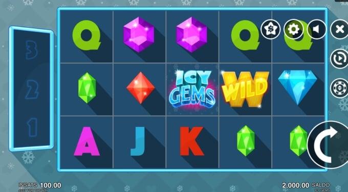 Icy Gems Bonus