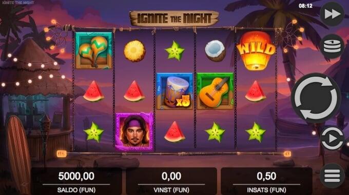 Ignite the Night Slot Bonus Game