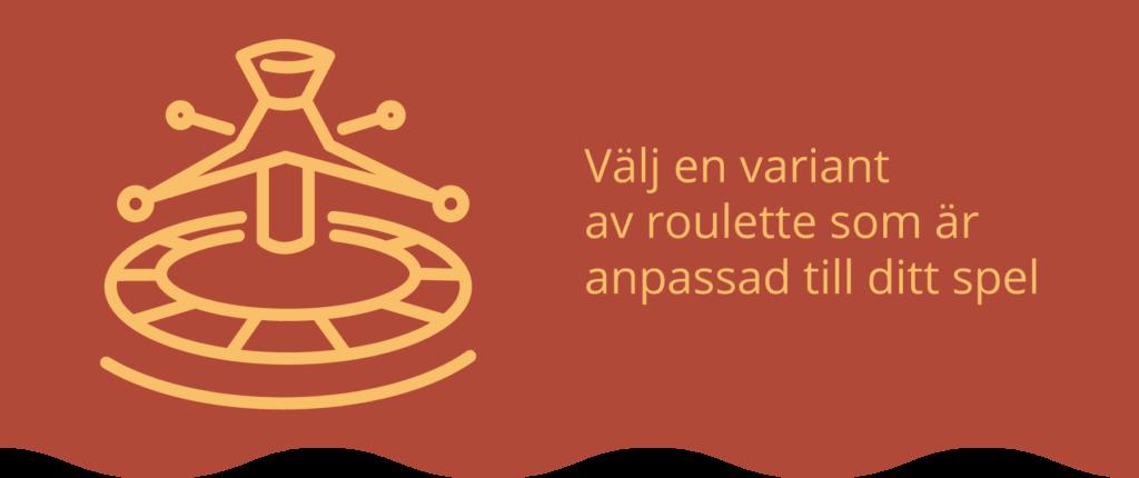 Varianter av Roulette online