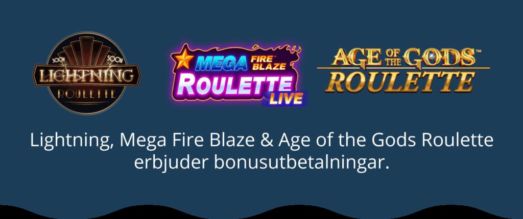 Roulette med bonus online