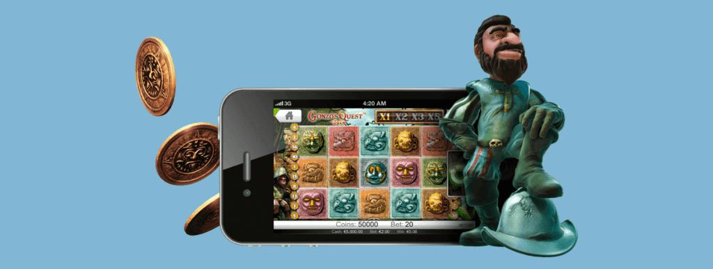 Gonzo's Quest mobil slot
