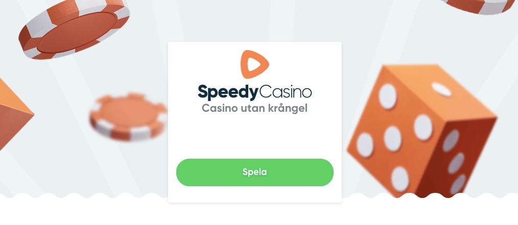 Speedy Casino utan konto