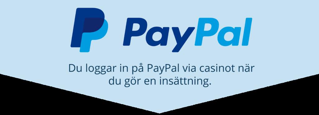 Hur PayPal på casino fungerar