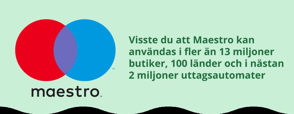 Länder som använder Maestro