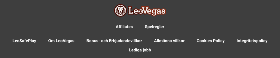 LeoVegas regler och villkor