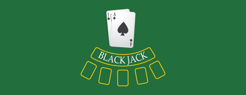 Blackjack går ut på att komma så nära 21 som möjligt.