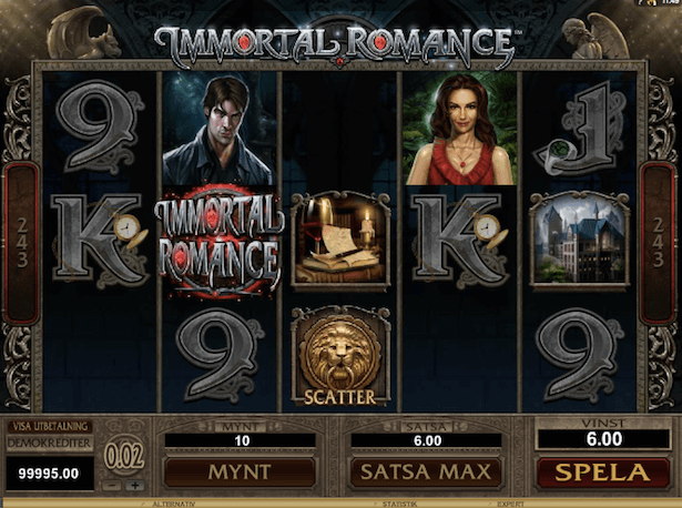 Immortal Romance Bonus