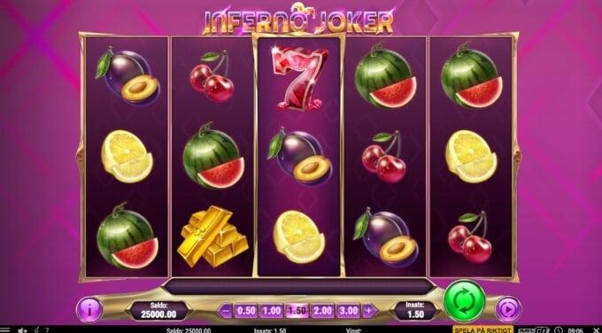 Inferno Joker Slot Bonus Game