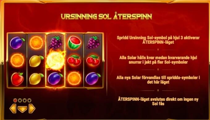 Inferno Star Slot Bonus