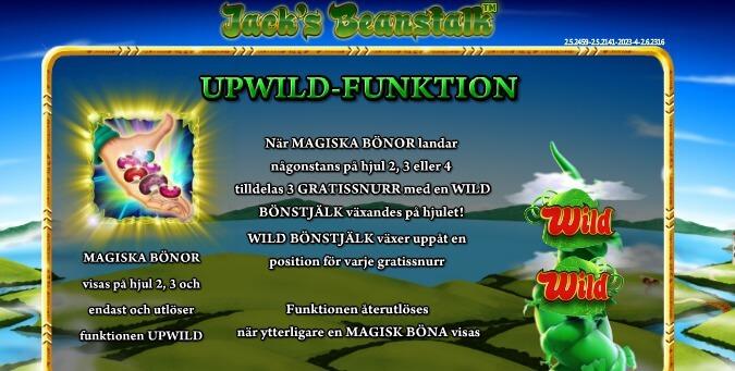 Jack's Beanstalk Free Spins