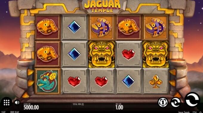 Jaguar Temple Slot Bonus Symb