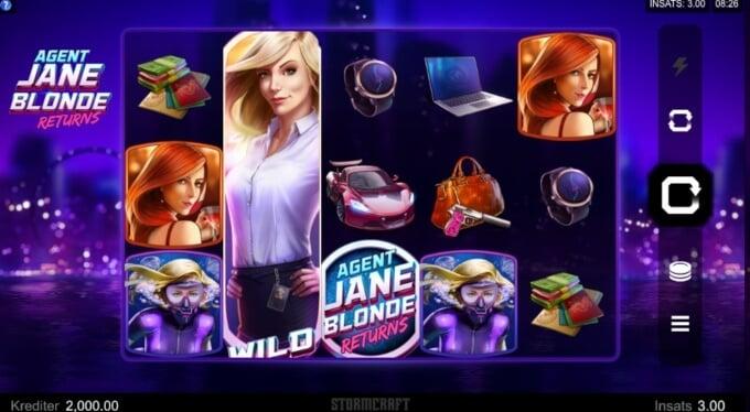 Agent Jane Blonde Returns Slot Bonus 1