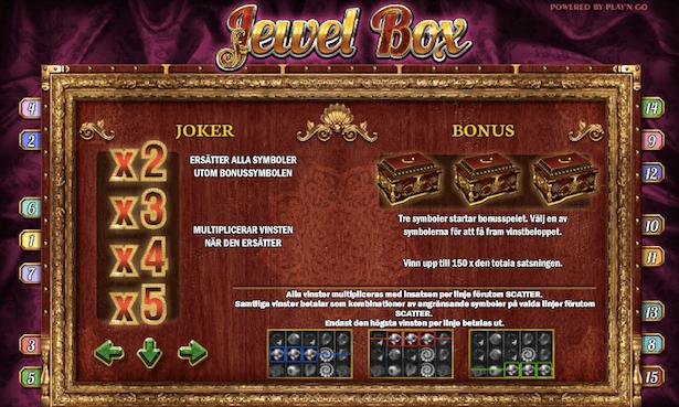 Jewel Box Bonus