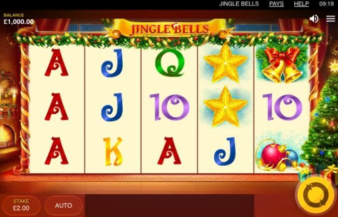 Jingle Bells Slot Bonus Game