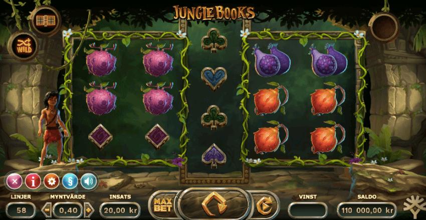 Jungle Books spelplan.