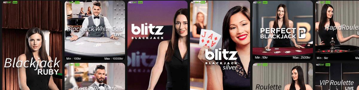 Klirr Casino Live