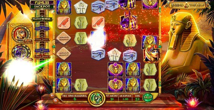 Legend of the Nile Free Spins