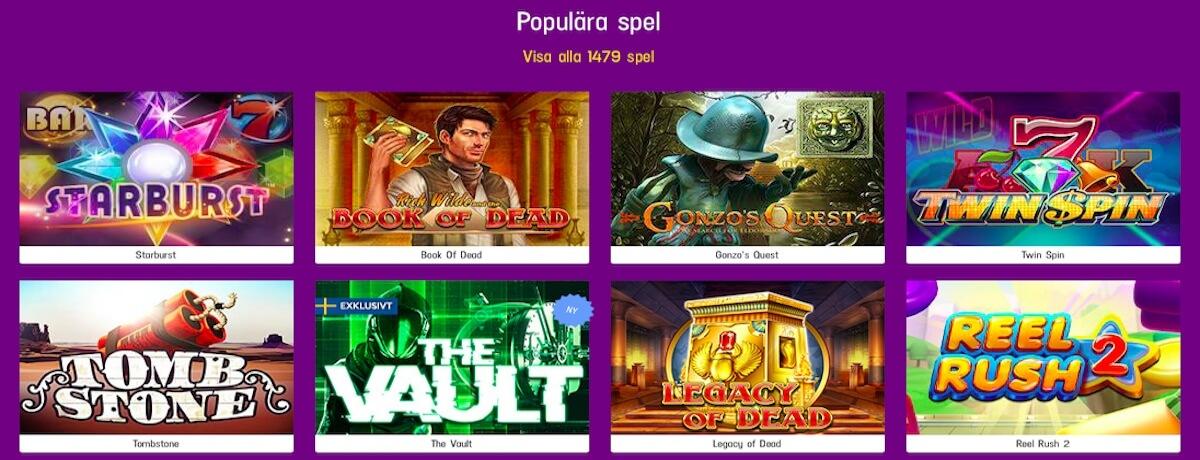 LuckyCasino slots