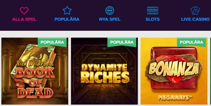 Lucky Vegas Casino Bonus Games
