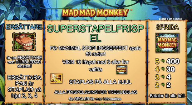 Mad Mad Monkey Bonus