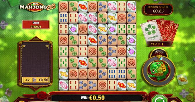 Mahjong 88 spelbord