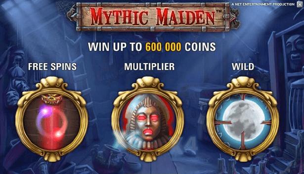 Mythic Maiden slot online - Bonus och free spins