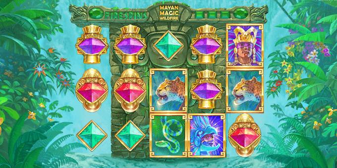 Mayan Magic Wildfire spelbord