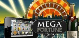 Mega Fortune i mobilen