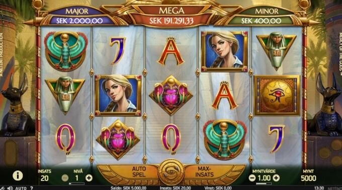 Mercy of the Gods Slot Bonus Game