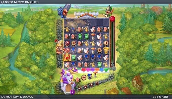 Micro Knights slot Sir Smash