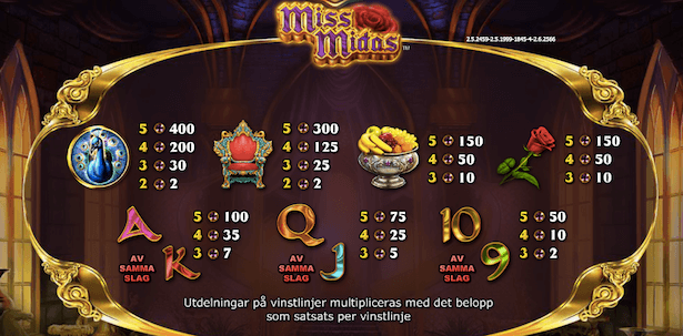 Miss Midas Bonus