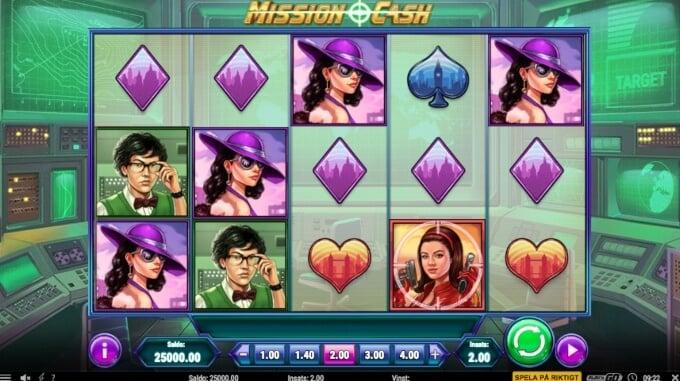 Mission Cash Slot Bonus Game