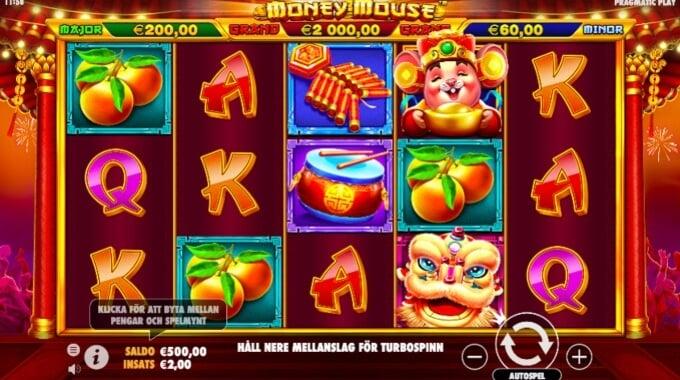 Money Mouse Slot Bonus Game