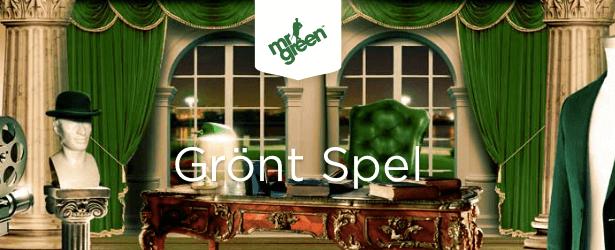 Grönt spel hos Mr Green!