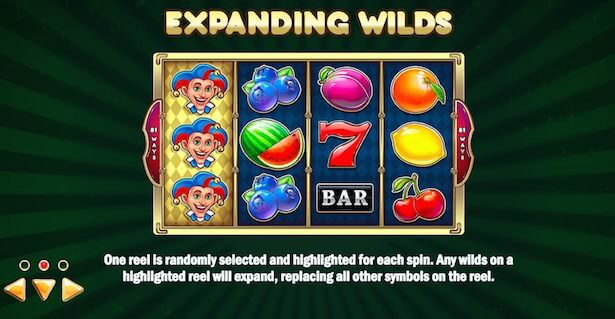 Multifruit 81 Slot Expanding WIlds