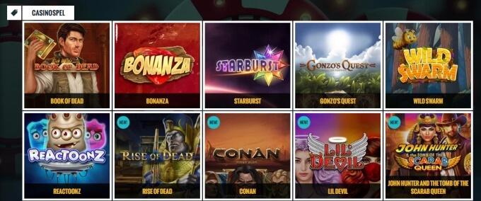 No Account Bet Casino Bonus Games