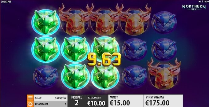 Northern Sky Free Spins