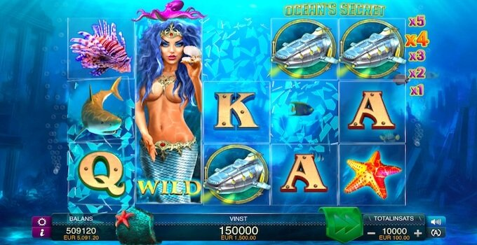 Oceans Secret Slot