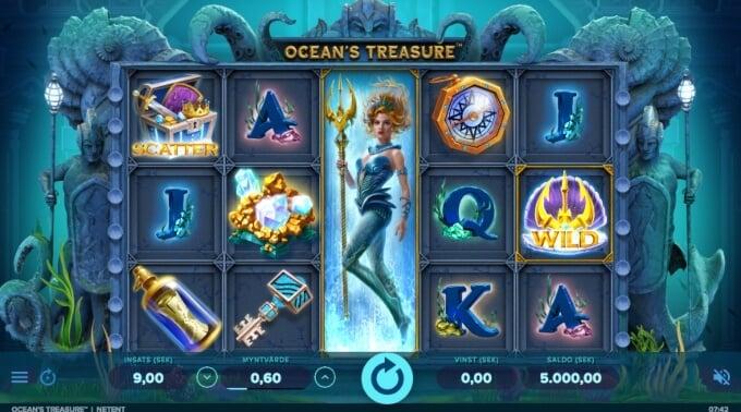 Oceans Treasure Slot Bonus
