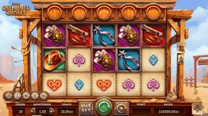 The One Armed Bandit Slot Bonus Game