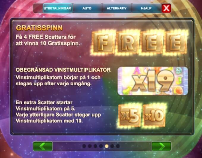 Opal Fruits Slot Bonus Free Spins