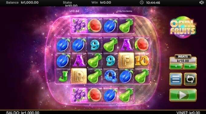 Opal Fruits Slot Bonus Game