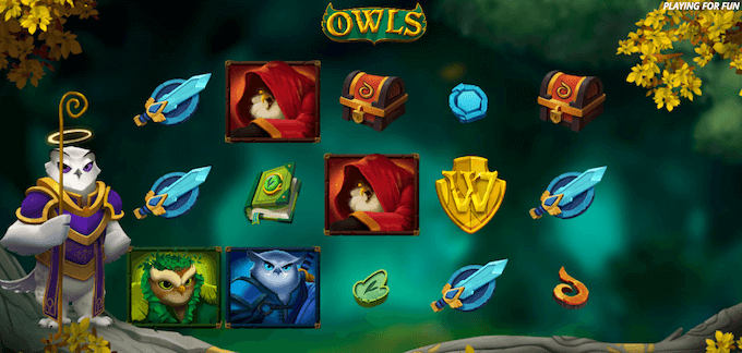 Owls spelbord